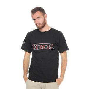 Tool-Red-Pattern-T-Shirt-Black