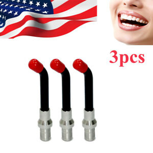 Teeth Whitening Careful Free Shipping 5pcs Dental Optical Fiber Curing Light Guide Rod Tip Glass Led Tip 12x15x8mm
