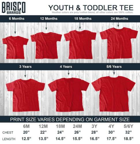 Sports Legend Video Gamer Youth Toddler T-Shirt Tees Tshirts for Women Men