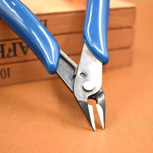New Electronic Shear Wire Cable Cutting Side Snips Flush Pliers Nippers Cut Q9T1