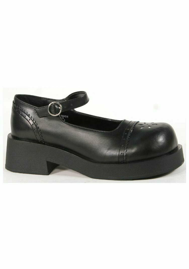 Demonia CRUX-07 2 Inch Heel Mary Jane Platform shoes Women's Size shoes