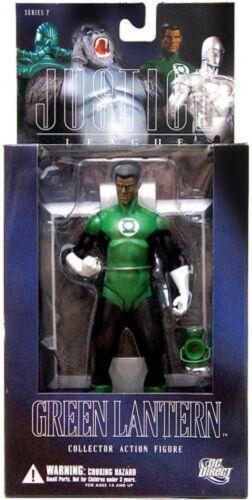 DC Alex Ross Justice League Series 7 John Stewart Green Lantern Action Figure