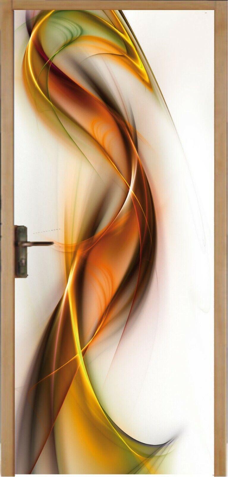Aufkleber für Tür Flach Design 93x204cm Ref 062