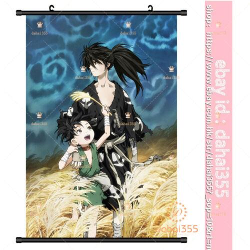 Anime Dororo  Otaku Decor Gift Scroll Poster Home Decorate Wall 60×90cm #X58