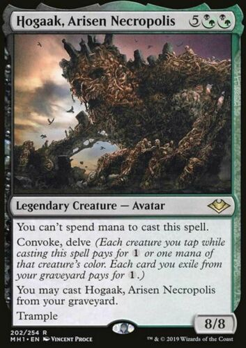 NM//M Modern Horizons R Hogaak Arisen Necropolis MTG Magic -