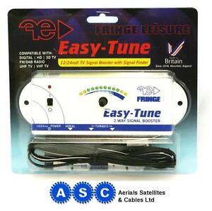 Fringe-easy-tune-2-tv-caravan-amplifier-booster-camping-caravan-television-12v