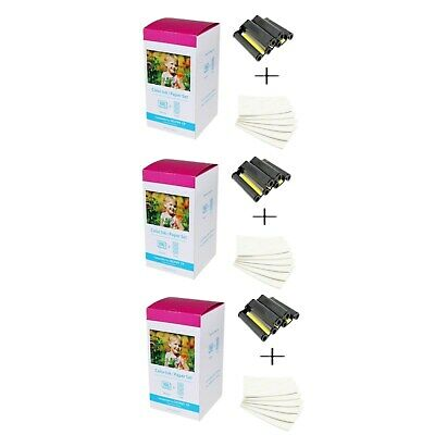 2PACK KP-108IN Color 3X Ink /& 108 Paper for Canon Selphy CP900 CP780 CP1200