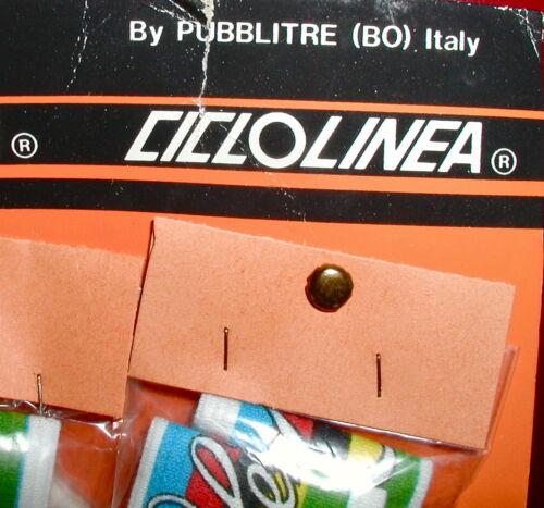 cir.70/'s Italie élastique//Terry Nouveau Stock Ancien Vintage Vélo Bandeau Cinelli Free Ship
