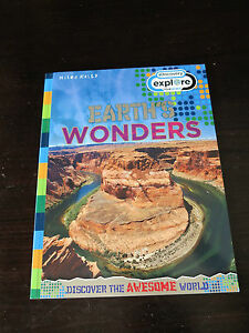Discovery-Explore-Your-World-Earth-039-s-Wonders-Miles-Kelly-publishing-brand-new