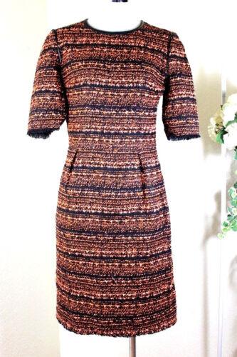 Tweed England Zwart Mulberry 0 2 Jurk 1 Flame Exotic Klein 36 Oranje S NwP8n0XOk