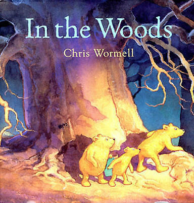 In The Woods by Christopher Wormell, Acceptable Book (Paperback) Fast & FREE Del