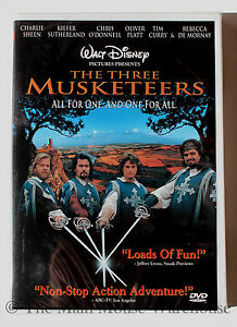 movie review of disneys the three musketeers Find great deals on ebay for disney three musketeers and donald duck three musketeers dvd disney cartoon movie no case donald duck goofy mickey mouse.