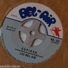 LES BEL-AIR : Cupidon 7 inch RECORD Quebec Garage Canada 1960s