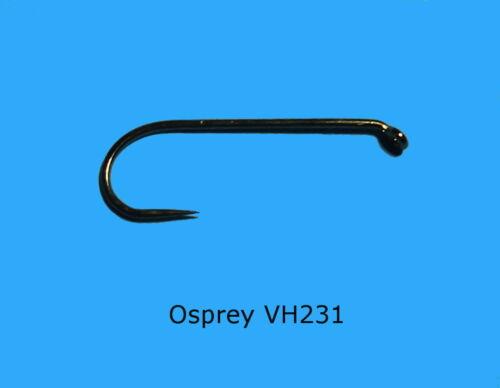 0,11€//Stück Veniard Osprey VH231 Barbless Nymph //Widerhakenlos