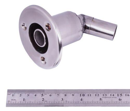 Stainless steel exhaust thru hull skin fitting 22 f// Webasto Planar Eberspacher