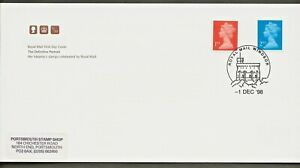 1/12/1998 1st & 2nd Perf 14 Nvi DEFINITIVES ex & £ 1 £ 2 questa vended Folleto Fdc