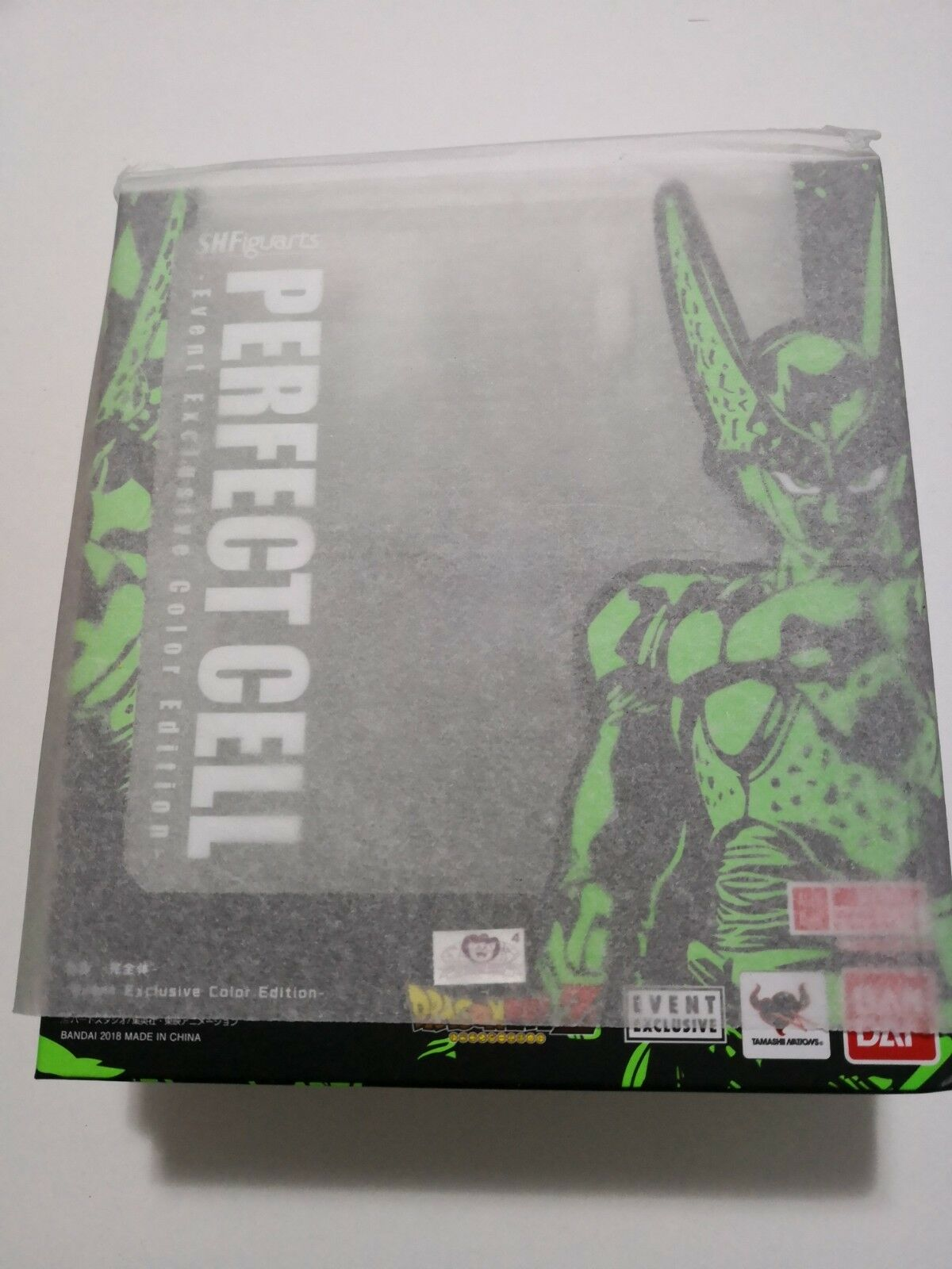 PERFECT CELL SH FIGUARTS TAMASHII NATIONS EVENT EXCLUSIVE EDITION