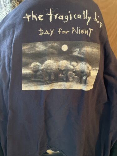 Tragically hip Day For Night T Shirt Large L