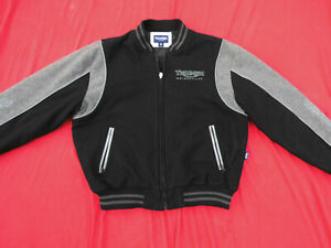 TRIUMPH-JACKE-DAYTONA-SPEED-TRIPLE-42-52-M-TIGER-EXPLORER-BASEBALL-JACKET