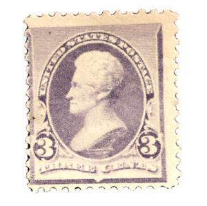 USA-Scott-221-F-VF-OG-Hinged-Fresh-Color-US-Stamp-CV-65