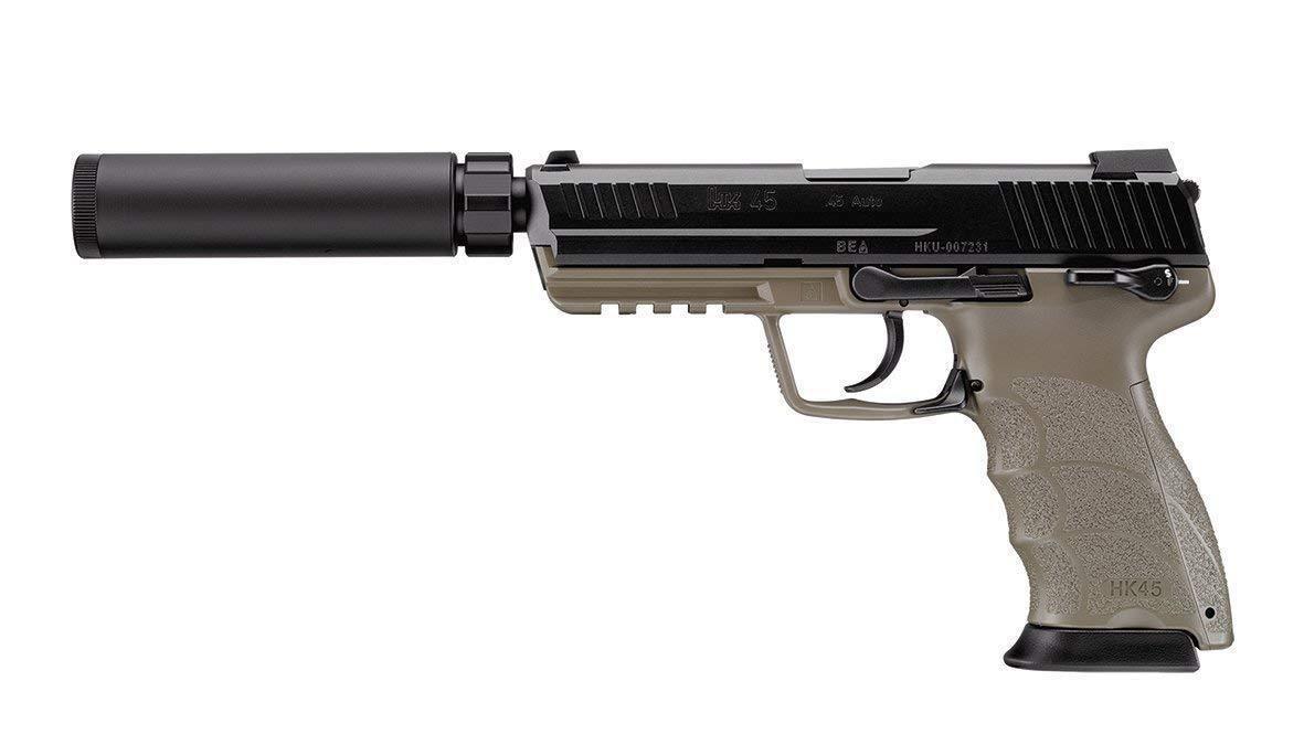 Tokyo Marui HK45 pistola táctica con SILENCIADOR Gas retroceso Japón Importación
