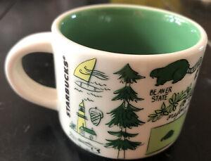 Starbucks Been There Oregon 2oz Mug Ornament