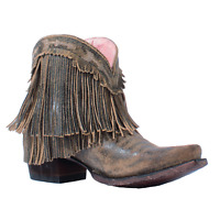 Junk Gypsy By Lane Ladies Spitfire Distressed Tan Boot Jg0007h