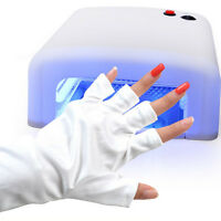 Nail Art Manicure Anti UV Glove for UV Light / Lamp Polish Dryer Tools