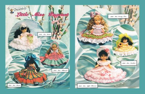 "Crochet doll dress pattern /""Little Miss Pageant/"" Annie Potter"
