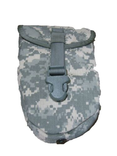 US Army Military ACU Camo E-Tool Pouch Carrier Shovel Molle II Entrenching gd