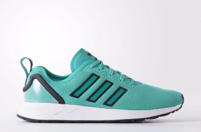 deabf12ee Adidas Originals ZX Flux ADV Men s Trainers Mint Green Shoes S79008