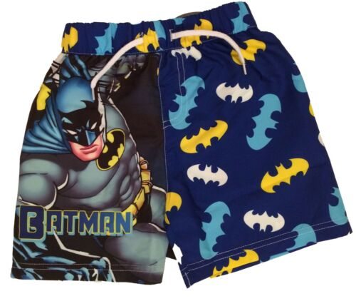 Boys Batman Swim Shorts Trunks Ages 7-8 and 9-10 Years