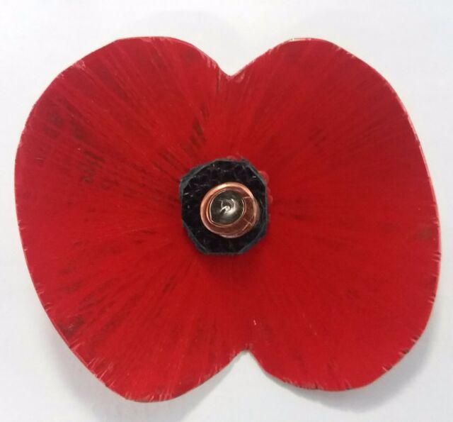 Poppy Brooch (Remembrance Poppy)