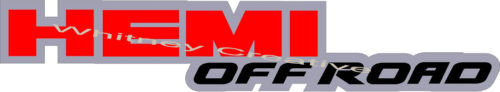 """/""""HEMI OFF ROAD/"""" Dodge Ram BED SIDE Truck  Decals Stickers Graphics 2 each"""