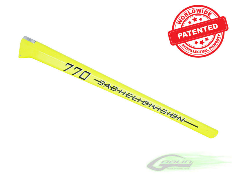 Carbon Fiber Tail Boom Yellow H0147-S