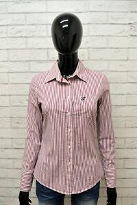 Camicia-GUESS-Donna-Taglia-Size-S-Maglia-Blusa-Shirt-Woman-Cotone-Righe-Regular