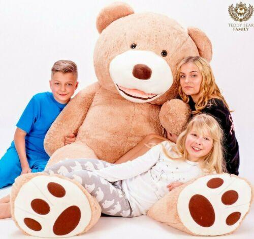 Teddybär XXL 180 cm Riesen Stofftier Plüschtier Groß XL Teddy Bär Geschenke idee