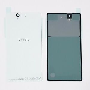 White Battery Cover Back Plate For Sony Xperia Z C6603 C6602 Original Part