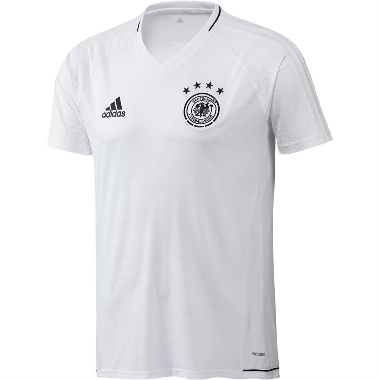 Adidas DFB Deutschland Training Trikot - Farbe Weiss - Gr. S 2017 18