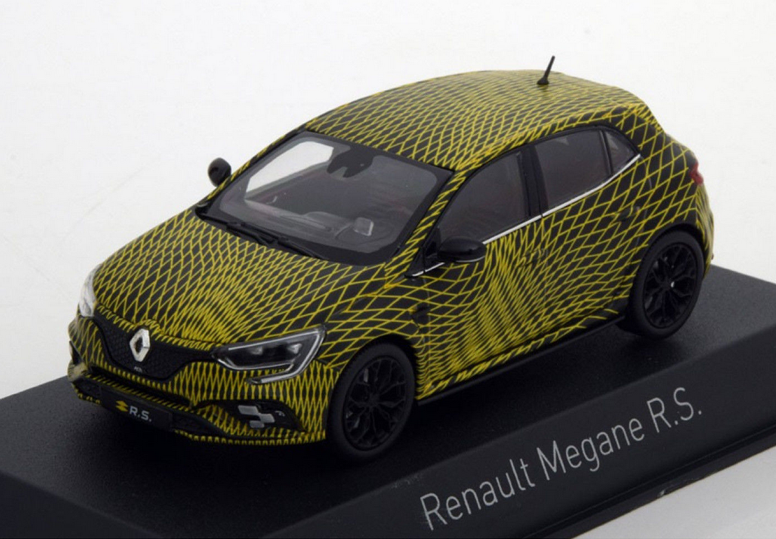 Renault Megane R.S. Test Version GP Monaco 2017 1 43 517727 Norev