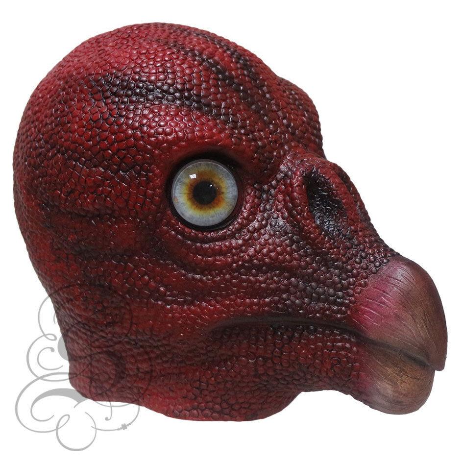 Latex Horror Animal Head Vulture Bird Halloween Dress Up Party Mascot Props Mask