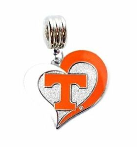 Tennessee Charm Pendant State Pendant TN Antiqued Silver with Jump Ring *