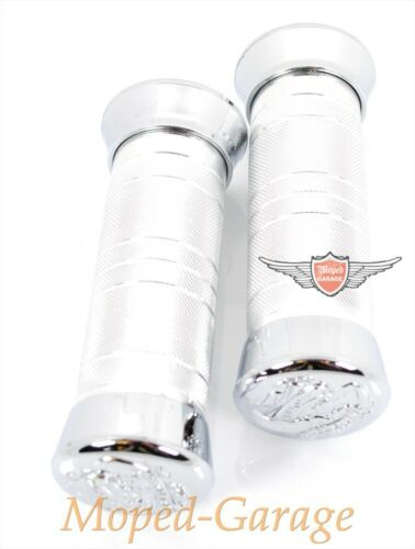 Harley Free Eagle Chrom Custom Griffe Satz Chopper für 1 Zoll Lenker Neu*