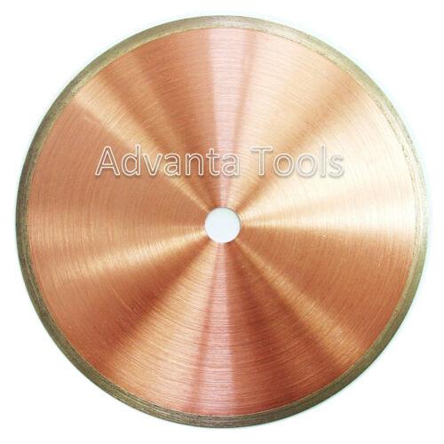 """1//2/"""" Arbor 6"""" x .020/"""" Supreme Sintered Continuous Rim Diamond Lapidary Blade"""