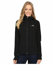 New Women's North Face Fleece Mezzaluna Hoodie Jacket Black Small