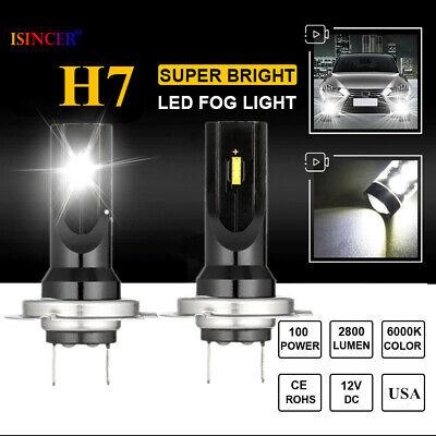 CREE 9005 HB3 LED Fog Light Conversion Kit Bulb High Power 6000K 100W Headlight~
