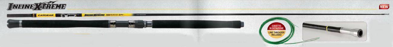 NOVITA' CATGEAR INLINE EXTREME con filo interno azione 250gr speciale SILURO