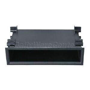 Universal-Car-Autos-Dash-Radio-Pocket-Storage-Box-Black-ABS-18x5x9-8cm