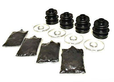 Pack of 4 Rear Axle Inner /& Outer CV Boot Kits 2003-2008 Arctic Cat 400 ATV
