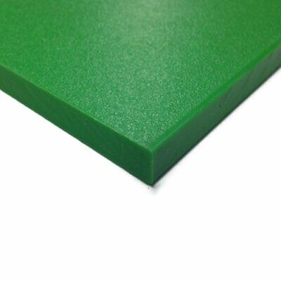 "Green Plastic Cutting Board HDPE // Sanatec Nominal 24/"" x 48/"" x 1//2/"" Thick"